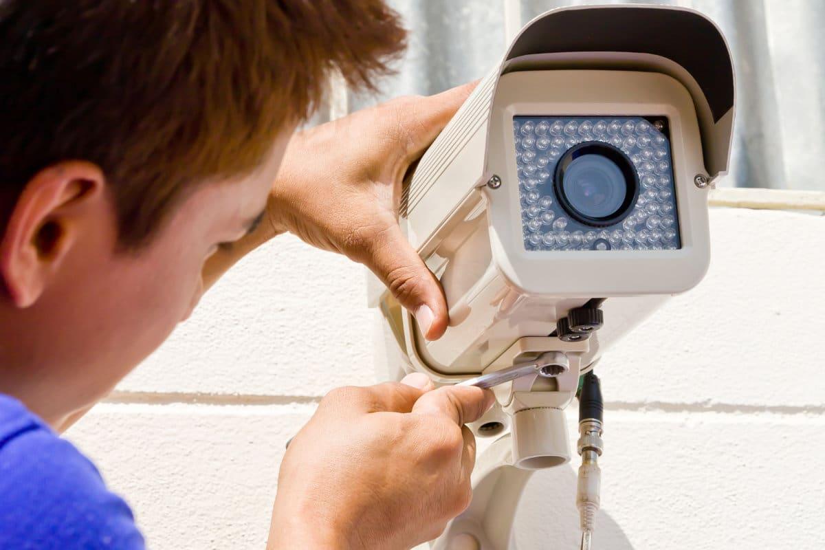 bewakingscamera installeren